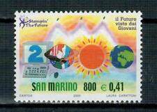 AL FACCIALE SAN MARINO - 2000 IL FUTURO DEI FRANCOBOLLI - SERIE COMPLETA**  MNH