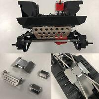 Metall Schutzplatte Chassis Armor für Axial SCX10 III AXI03007 Jeep Wrangler RC