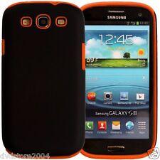 Custodia IBRIDA ARANCIO per Samsung Galaxy S3 I9300 I9300I I9305 Cover Bumper