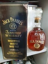 Old & Rare Jack Daniels Maxwell House Magnum 150 CL con certificatoand box