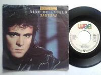 """Nino De Angelo / Samuraj 7"""" Vinyl Single 1989 mit Schutzhülle"""