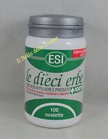 ESI LE DIECI ERBE + FORTE 100 ovalette regola intestino lassativo digestione