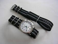 NATO G10 UTC Grey 20mm Military watch strap Heavy Ballistic nylon band 18 22 24