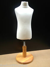 CHILDS AGE 2/4 Dressmaking Mannequin Tailors Bust Display Dummy Dressmakers