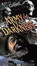 Army of Darkness (Vhs, 1999) Brand New and Sealed - Evil Dead Bruce Campbell Ash