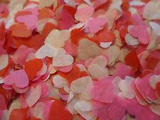 2000 Valentines Tissue Hearts/Wedding Confetti/Celebration//Party/ Decoration