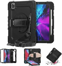 """For iPad Pro 12.9 """" Case (2020/2018) 4th/3rd Gen Build-in Screen Protector Cover"""