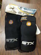 Stx Lacrosse Flex Arm Pads, Black, Lg.