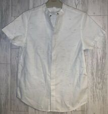 Boys Age 8 (7-8 Years) Next - Short Sleeved Summer Shirt - Excellent Condition