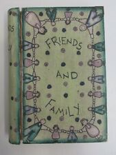 East of India shabby chic green wooden friends & family wooden trinket box book