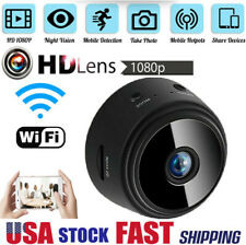 Mini Hidden Spy Cameras Wireless Wifi IP Home Security HD 1080P DVR Night Vision