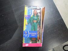 NEW Barbie Sydney Australia Olympic Games Olympic Fan Doll British Flag 2000
