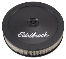 "Edelbrock 1203 Pro-Flo Black 10"" Round Air Cleaner / Filter"