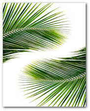 Palm Leaves Print, Tropical Palm Leaf Print, Palm Art, 8 x 10 inches, Unframed
