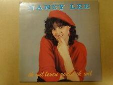 """LP 12"""" / NANCY LEE: IK WIL LEVEN ZOALS IK WIL (MONOPOLE, BELGIUM)"""