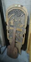 Antique Tribal art ethnic african birthing  chair