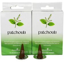30 x PATCHOULI Incense/Fragrances Cones Calming/Anxiety/Soothing Insence/Insense