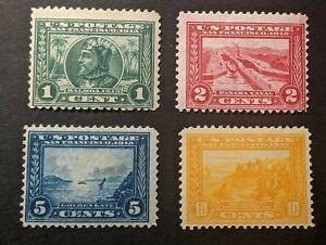 JJ: US Stamp Collection Lot Scott 397-400 Mint, 5c 399=Regum?, Pan-Pacific Set
