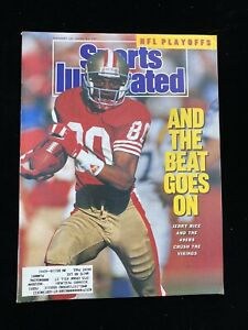Sports Illustrated – January 15th, 1999 - JERRY RICE - San Francisco 49ers