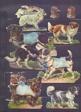 Nice Packet of Vintage Scraps Dogs,Largest 125 x 85 mm  SP32