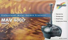 Meßner MAV 4000 Teichpumpe 3800 l/h 101006