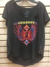 Trunk Ltd Journey Greatest Hits Vintage Distressed Womens NEW T-shirt Sz S