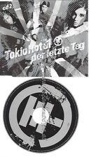 CD--TOKIO HOTEL --DER LETZTE TAG --CD2