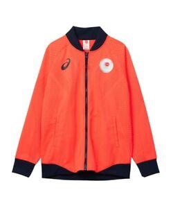 L size asics sportswear jersey jacket podium jacket JOC emblem