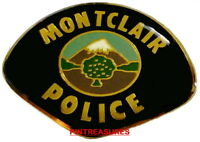 Collector Vintage Historic Police Pins Montclair CA Police Patch Lapel Hat Pin@@