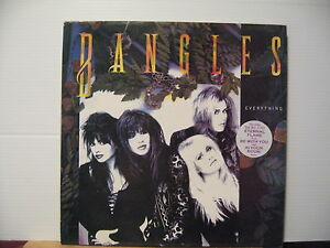 The Bangles - Everything - with inner & Poster-CBS Vinyl Lp - Free UK Post