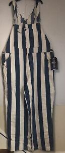 New Levi/'s Silvertab 1990s Striped Overalls Mens Retro /'90s Striped Overalls