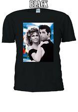 John Travolta and Olivia Newton-John Grease Movie Men Women Unisex T-shirt 230