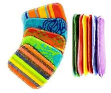 New EUROSCRUBBY Scrubby & Sponge Set, Euro Cleaning Cloth Non Scratch Free Post