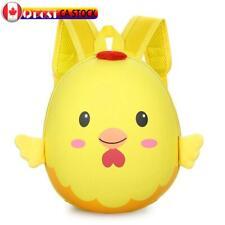 3D Chick Egg Shell School Bags Backpacks Kindergarten Satchel Bag (Yellow) *CA