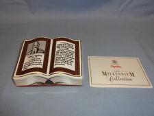 LIMITED Edition SPODE Crimson fermacarte-GUTTENBERG Bibbia