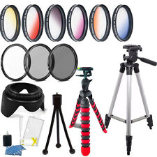 52mm Color Filter + UV CPL ND Accessory Kit Nikon D3300 D3200 D3100 D3000
