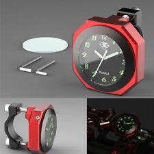 Motorcycle Accessory Handlebar Clock Watch reveal new waterproof luminous clock