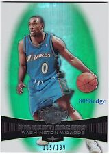 2006-07 TRIPLE THREADS EMERALD #14: GILBERT ARENAS #105/199 WIZARDS 3x ALL-STAR