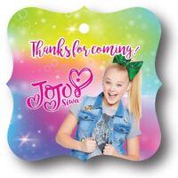 24 JoJo Siwa Thanks for coming! Birthday Party Favor Tag