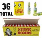 (36) Stink Bombs - Stinky Glass Gag Prank Fart Joke (1 case of 36)