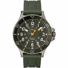 Orologio Uomo TIMEX ALLIED COASTLINE TW2R60800 Silicone Verde Sub 100mt NEW