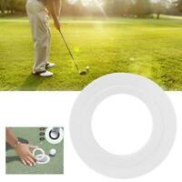 Plastic Diameter Golf Putting Green Hole Cups Ring Training Aid Tools Accessory
