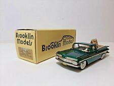 Brooklin models Chevrolet El Camino 1959 modelex 1994 BRK 46x white met green