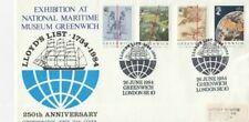 26 JUNE 1984 GREENWICH MERIDIAN LLOYDS FIRST DAY COVER LLOYDS LIST GREENWICH SHS