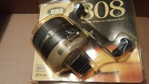 New Vintage Zebco 808 Spincast Reel Made in USA Fishing Reel