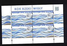 MNH FI 4744 Special Sheet Year of Vistula River WISŁA