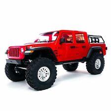 Axial RC Robot 1:10 SCX10 III Jeep JT Gladiateur M.Portals Rtr Rouge