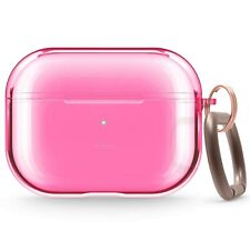 AirPods Pro Case  -  elago® Clear Case [Neon Hot Pink]