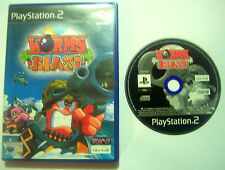 Worms Blast Playstation 2 PS2 Game