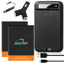 AceSoft 4320mAh Li-ion Battery Double Charge Data Cable for Lg Stylo 3 Ls777